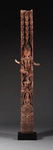 A Large Wood Strut