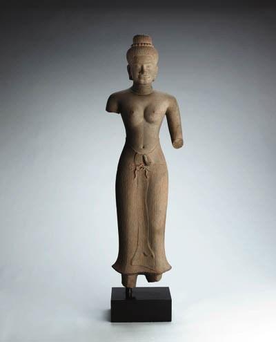 A Stone Figure of Uma