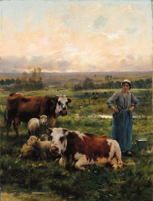 Julien Dupré (French, 1851-191