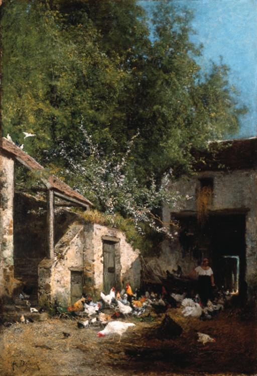 Alexandre Defaux (French, 1826