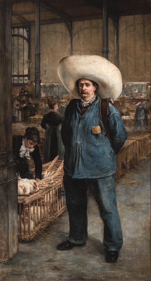 Emile-Henri Blanchon (French,