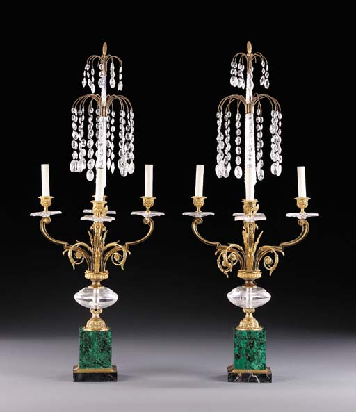 A PAIR OF RUSSIAN NEOCLASSIC-S