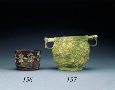 A ROMAN POTTERY CUP