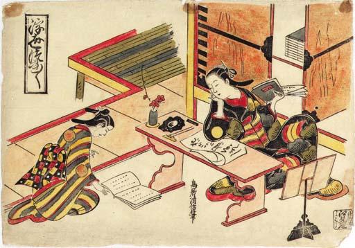 Torii Kiyonobu (circa 1664-172