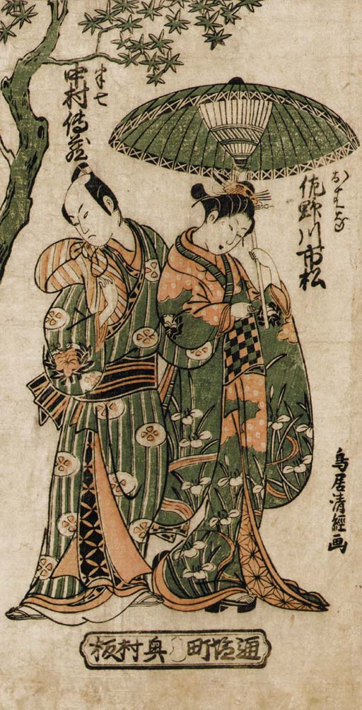 Torii Kiyotsune (fl. circa 175