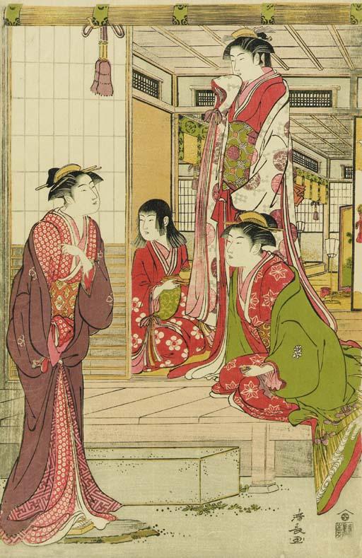 Torii Kiyonaga (1752-1815)