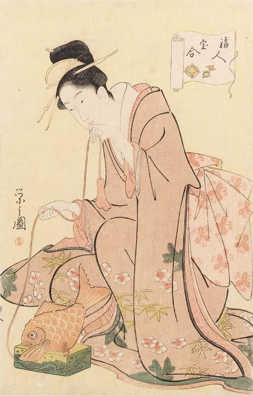 Chobunsai Eishi (1756-1829)