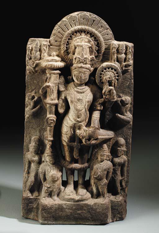 A Blackstone Stele of Vishnu