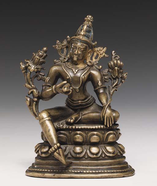 A Bronze Figure of Vajrasattva