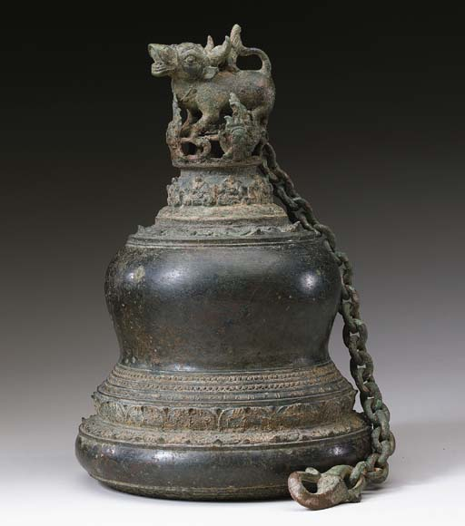 A Large Bronze Bell