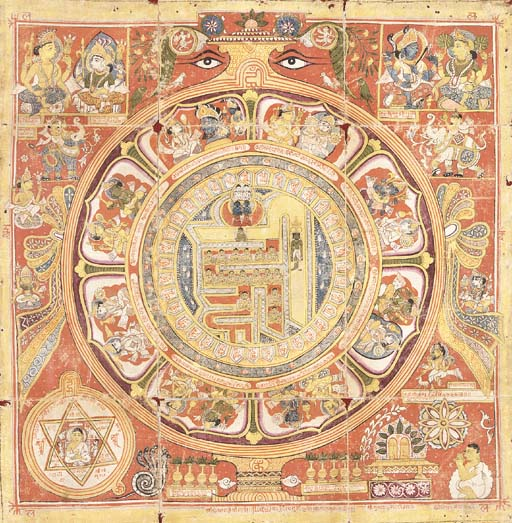 A Jain Ohm-Hrim Yantra