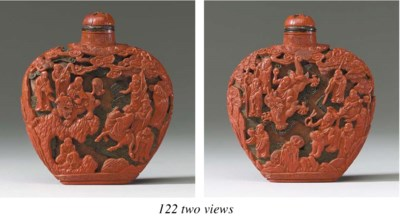 A Well-Carved Japanese Red, Bl