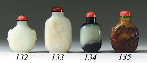 Two White Jade Bottles