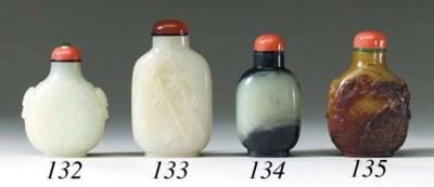 Two White Jade Bottles