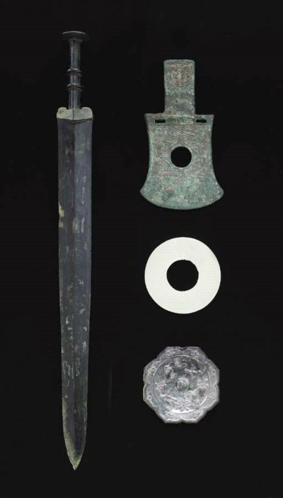 Two Early Bronze Weapons