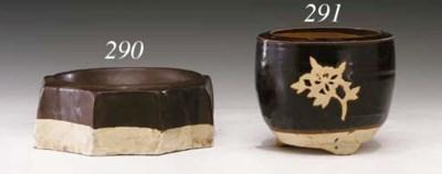 An Unusual Cizhou Brown-Glazed