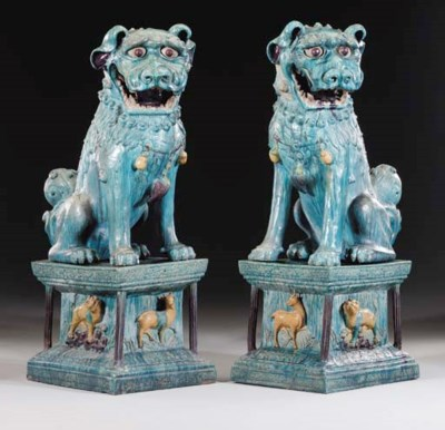 A Pair of Dated Glazed Tilewor