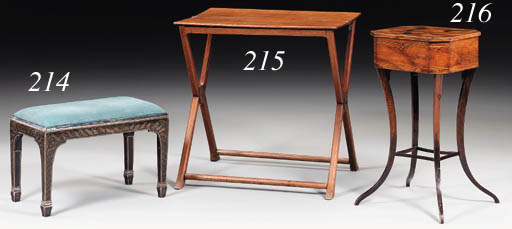 A REGENCY ROSEWOOD AND PARQUET