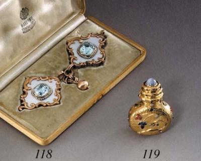 A jewelled gold Art Nouveau Sc