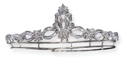 A DIAMOND TIARA