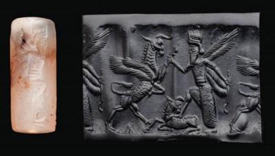 A NEO-BABYLONIAN CHALCEDONY CY