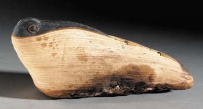 AN EGYPTIAN MUMMIFIED IBIS