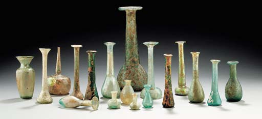 A COLLECTION OF ANCIENT GLASS