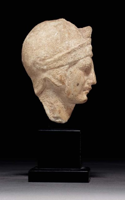 A HELLENISTIC OR ROMAN MARBLE
