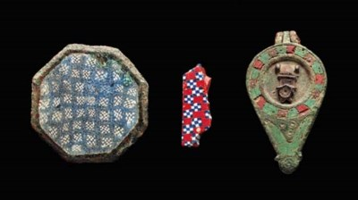THREE ANCIENT OBJECTS