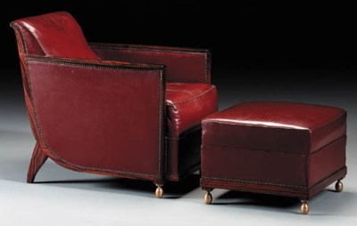 AN UPHOLSTERED MACASSAR EBONY
