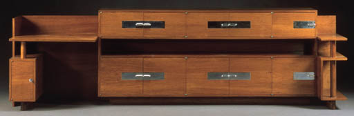 A PEARWOOD CABINET