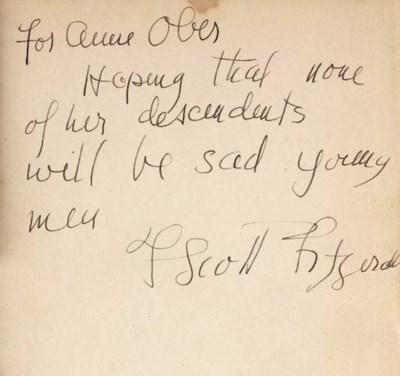 FITZGERALD, F. Scott. All the
