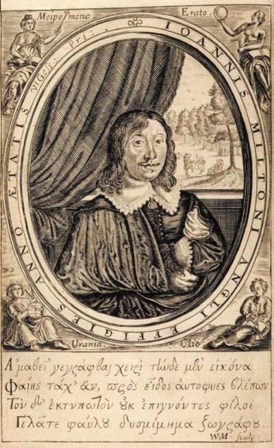 MILTON, John (1608-1674). Poem