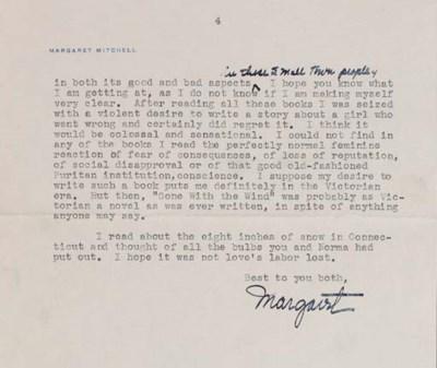 MITCHELL, Margaret (1900-1949)