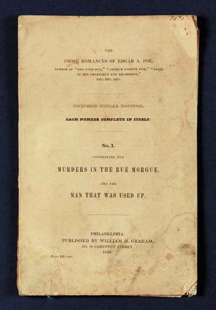 POE, Edgar Allan (1809-1849).