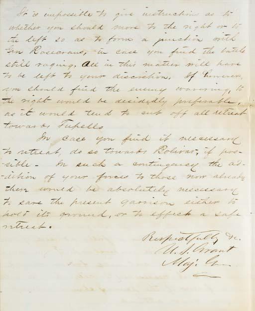 GRANT, Ulysses S. (1822-1885),