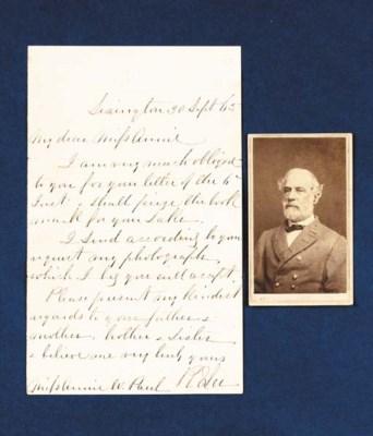 LEE, Robert E., General, C.S.A