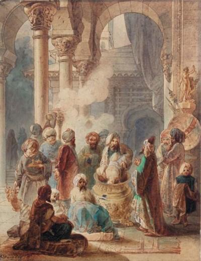 ADRIEN DAUZATS (Bordeaux 1804-