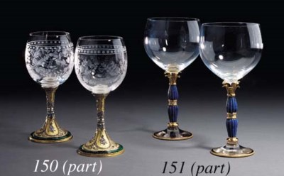 A SET OF TWELVE FRENCH GOLD, L