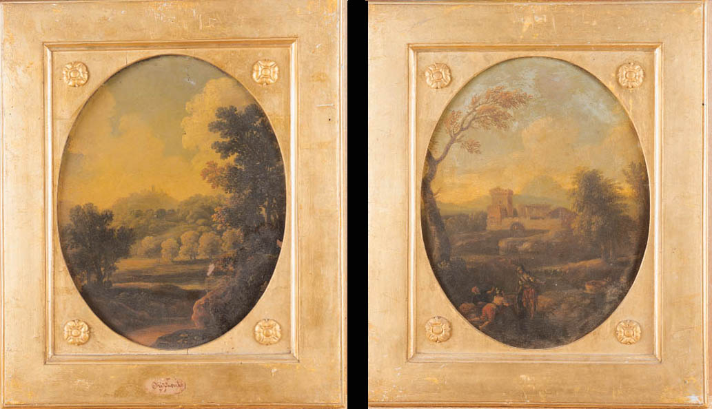 Attribuiti a Jan Frans van Bloemen, l'Orizzonte (1662-1749)