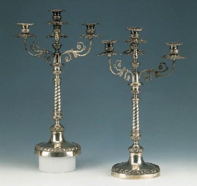 Interessante coppia di candela
