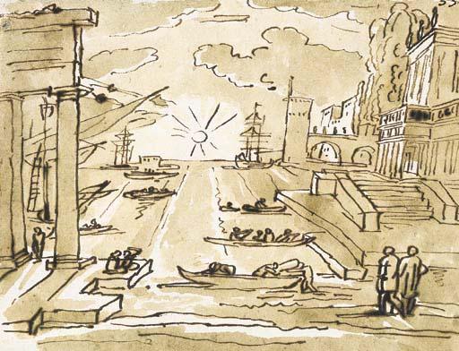 Scuola romana, inizi del secol