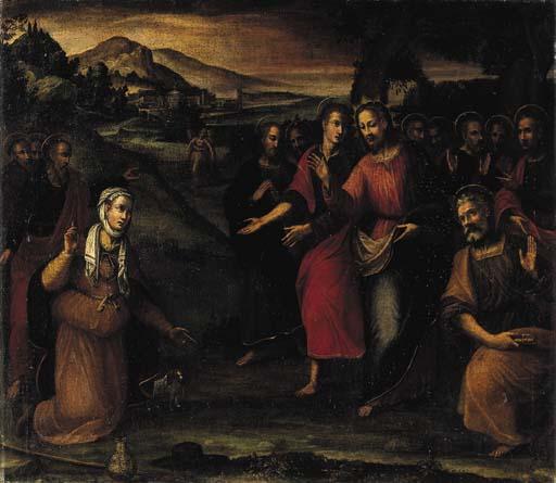 Seguace di Jacopo Negretti, Pa