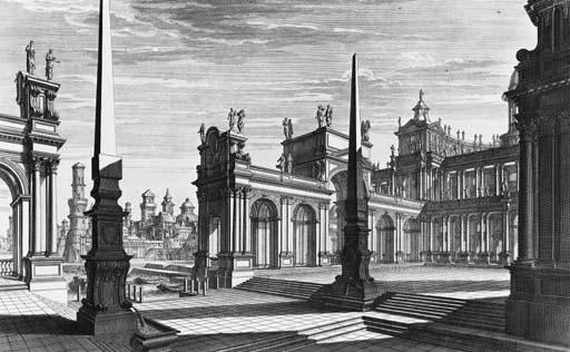 BIBIENA, Giuseppe Galli. Archi