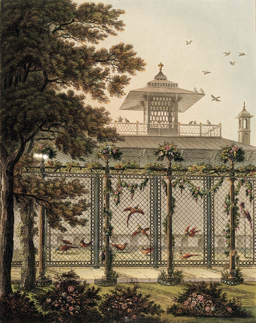 REPTON, Humphry. Designs for t