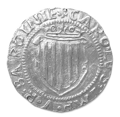 Carlo V Imperatore, Scudo d'or