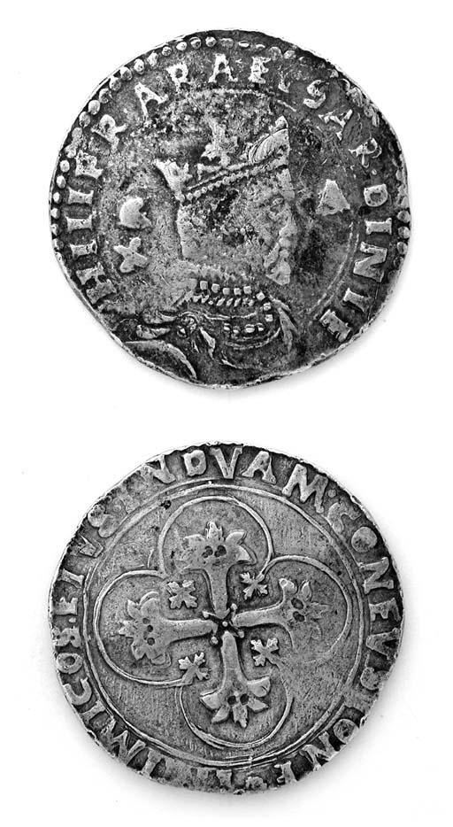 Filippo II di Spagna, 10 Reali