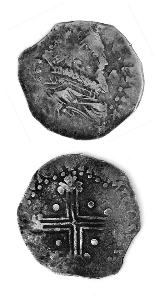 Filippo II di Spagna, 5 Reali,