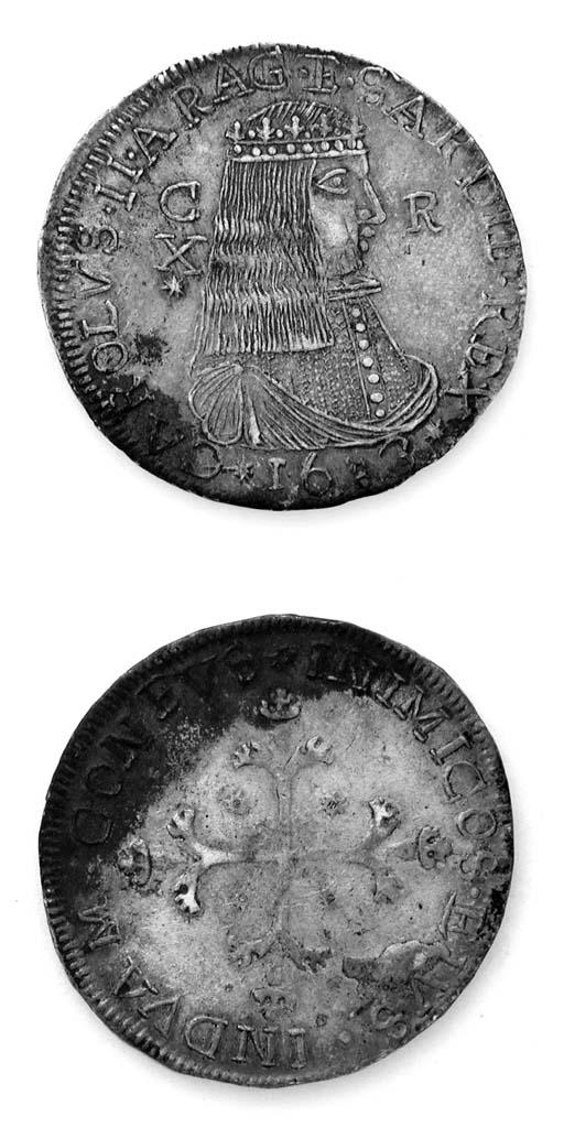 Carlo II di Spagna, Scudo da 1