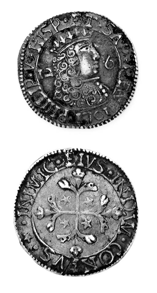 Filippo V di Spagna, 2½ Reali,
